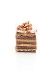 kawowy toffee tort Zdjęcie Royalty Free