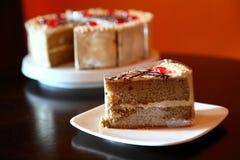 Kawowy tort Fotografia Stock