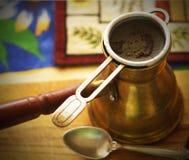 kawowy turkish Zdjęcia Stock