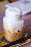 kawowy zimny napój Obrazy Stock