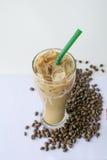kawowy zimny napój Zdjęcia Royalty Free