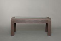 kawowy zmroku stołu drewno Zdjęcie Stock