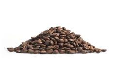Kawowych fasoli rozsypisko Fotografia Royalty Free