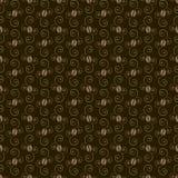 Kawowych fasoli wzór Obraz Stock