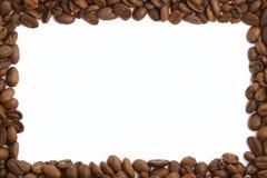 kawy bobowa rama Obraz Royalty Free