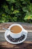 Kawy czerń Zdjęcie Royalty Free