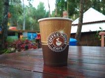 Kawy domowa kawiarnia fotografia stock