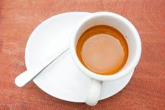 Kawy espresso filiżanka Obrazy Royalty Free
