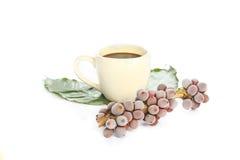Kawy espresso kawa i icd kawowe fasole Fotografia Stock