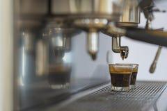 Kawy espresso kawy maszyna Zdjęcie Royalty Free
