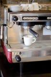 Kawy espresso maszyna w kawowym domu Fotografia Royalty Free