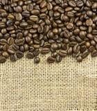 Kawy granica Obraz Royalty Free