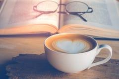 Kawy książka Zdjęcia Stock
