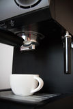 kawy maszyna Zdjęcia Royalty Free