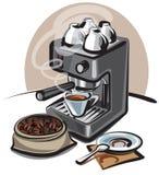kawy maszyna Obraz Royalty Free
