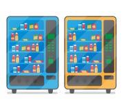 kawy maszyny przekąski vending woda Zdjęcia Stock