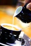 kawy mleka Fotografia Stock