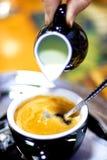 kawy mleka Obrazy Royalty Free