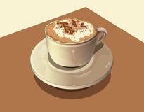 kawy mleko ilustracji