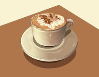 kawy mleko Zdjęcia Royalty Free