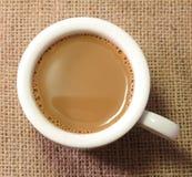 Kawy mleko Obraz Stock