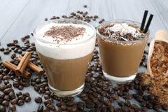 Kawy mleko Zdjęcie Stock