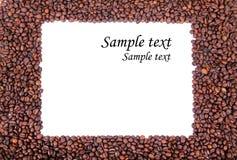 Kawy rama Obrazy Stock