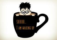 Kawy skąpanie Ilustracja Wektor