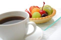 kawy tortowa owoc Obrazy Stock