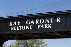 Kay Gardner Beltline Park Royalty Free Stock Photos