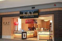 Kay Jewelers Retail foto de archivo