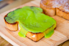 Kaya toast Stock Photo