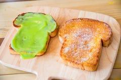 Kaya toast Stock Images