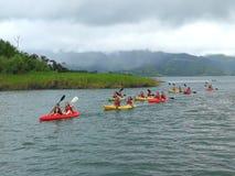 Free Kayack In Arenal Lake, Costa Rica Stock Images - 121907174