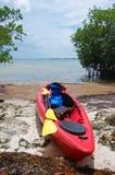 kayak экспедиции стоковая фотография