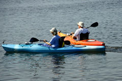 Kayak 2 Royalty Free Stock Photography