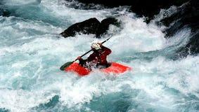 Kayak. A kayaker Stock Images