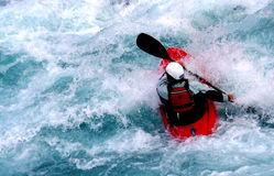 Kayak. A kayaker Royalty Free Stock Image