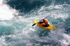Kayak. A kayaker Royalty Free Stock Photos