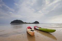 Kayak Photographie stock libre de droits