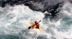 Kayak. A kayaker Royalty Free Stock Photo