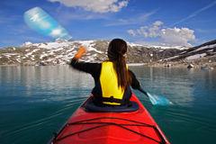 Kayak Royalty Free Stock Photography