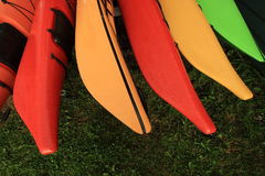 Kayak Abstract Royalty Free Stock Images