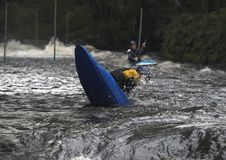 Kayak action Royalty Free Stock Photography