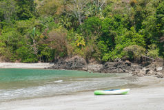 Kayak on beach Royalty Free Stock Image