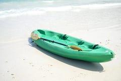 Kayak on beach Stock Photo