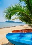 Kayak at the beautiful tropical beach. Thailand Royalty Free Stock Photo