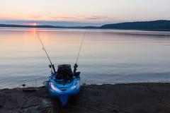Kayak calme Image libre de droits