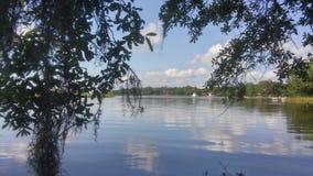 Kayak de rivière Photo libre de droits