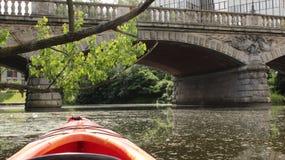 Kayak de Wroclaw Photos libres de droits